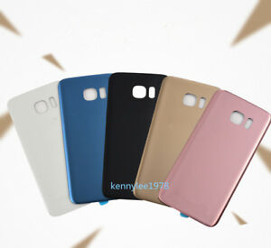 For Samsung Galaxy S7/S7 Edge Glass Rear Battery Back Door Housing Cover case