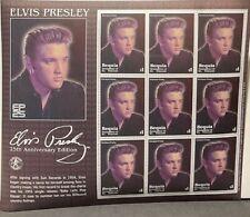 Sheet of Postage Stamps (Elvis Presley)
