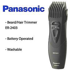 Brand Panasonic ER 2403 K Body Hair & Beard Trimmer <JAPAN Made> 100% Washable