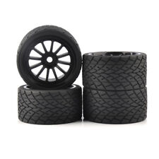 4Pcs 1:8 Bigfoot Tires&Wheel 17mm Hex for TRAXXAS Monster Truck on Road RC Car