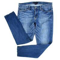Flying Monkey Womens Size 28 Blue Jeans Straight Cut Faded Medium Wash