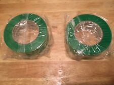 "New listing Two Rolls Of Nichigo Gtape 1009Gr Green 2"" x 164'"