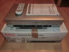 AEG DVD-R 4509 VCR DVD-Recorder & VHS-Videorecorder in OVP, FB&BDA, 2J. Garantie