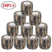 10 Roll 4.5M Woodland Camo Gun Wrap Rifle/Gun Hunting Camouflage Stealth Tape