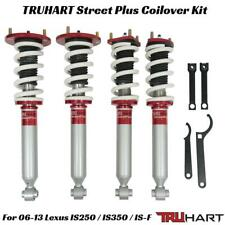 TRUHART StreetPlus Coilovers Kit For 06-13 Lexus IS250 IS350 IS-F RWD Adjustable