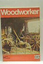 Woodworker Magazine. July, 1977. Volume 81, number 1004. Television Table Stool.