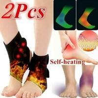 Adjustable Ankle Support Tourmaline Selfheating Magnetic Relief Therapy For M7P2