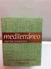 MEDITERRANEO DE ANTONIO BANDERAS DE PUIG EAU TOILETTE 50 ML Vintage Raro