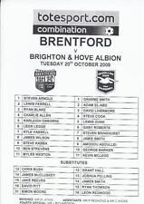 Brentford Division 2 Home Teams A-B Football Programmes