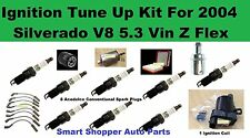 Ignition For Silverado 1500 V8 5.3L VinZ Flex 4WD Ignition Coil (Square), Filter