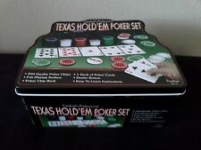Texas Hold'em Poker Set Cardinal's Professional Cards Games Gambling Gamble