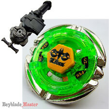 Beyblade Fusion Metal Masters BB-48 Flame LIBRA+GRIP+LR Launcher