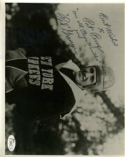 RED GRANGE YANKEES VINTAGE SIGNED JSA CERT 8X10 PHOTO AUTHENTIC AUTOGRAPH