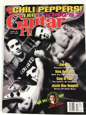 Guitar Player Magazine October 1991 Red Hot Chili Peppers EMF Kings X Robillard