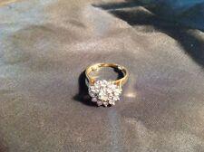 Diamond Cluster 18k Fine Rings