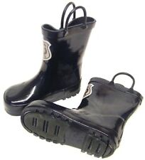 Kids Boys Navy Special Police Wellington Wellies Boots Size 12