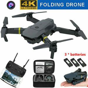 Drone X Pro WIFI FPV 4K HD X 2 Cameras 3 Batteries Foldable