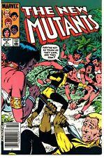 Marvel Comics New Mutants Issue 8 - Oct 1983