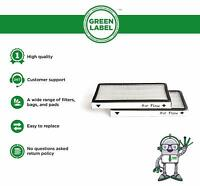 2 Pack. For Kenmore EF-1 HEPA Vacuum Filter (compares to 86889). By Green Label.