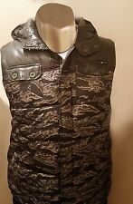 Men Enyce Sean John Vest with Hood 2XL Padded Camouflage Hunting NWT