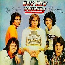 Bay City Rollers-Rollin' (Signed) Vinyl LP Cover Sticker or Magnet