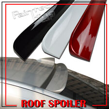 Painted FOR 10-12 For SAAB 95 4DR SEDAN WINDOW REAR ROOF LIP SPOILER WING