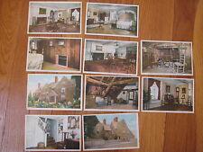 Vintage SALEM MASSACHUSETTS HUGE POSTCARD LOT 10 House of the Seven Gables MA
