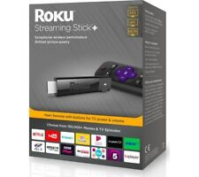 Roku Streaming Stick+ Player - 4K Smart TV  Stick Black Brand NEW