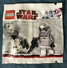 LEGO Star Wars Chrome Stormtrooper Minifigure Polybag 2853590 NEW SEALED RARE!!!