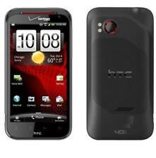 New HTC Rezound 16GB 8MP Camera 4G LTE Black Verizon Smartphone