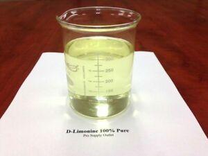 D-Limonene 100% Food Grade Citrus Solvent 16 oz