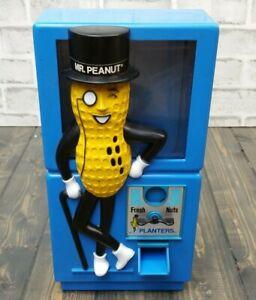 Vintage Planters Mr. Peanut Plastic Machine Nut Dispenser TARCO Tarrson Company