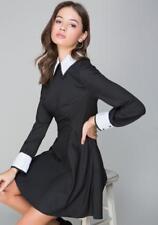 BEBE AMBER SEQUIN COLLAR CUFF DRESS NWT NEW $139 XXSMALL XXS 0