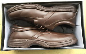 Cushion-Walk Brown  Lightweight Shoes Size 12 Wide Fit Grade A Cond