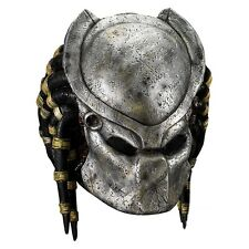 Predator Mask with Detachable Faceplate Adult Costume Mask