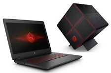 "HP Omen 17t Gamer Laptop 17 17.3"" UHD 4K i7-7700HQ 16GB 128GB 2TB 4GB 1050Ti Pro"