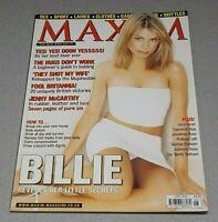 BILLIE PIPER MAXIM MAGAZINE (JUNE 2000) RARE DOCTOR WHO ***BRAND NEW & UNREAD***