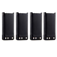 4pcs 1650mAh 7.4V Battery for Kenwood  KNB-45 KNB-29N TK-2200 TK-2200L TK-2200P
