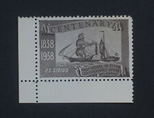 GB Cinderella - 1938 Sirius Sailing Steam Ship Centenary Mint