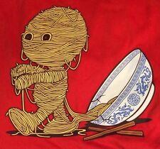 'Ramen'ses Return Top Ramen Shop Japan Threadless Maninang Red Medium T-Shirt