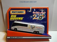 Matchbox Big Movers White 2000 Walt Disney World Bus