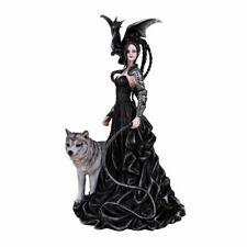 NENE THOMAS Fairy Witch Wicca Dominatrix Whip Wolf Dragon Figurine NEW n BOX❤️m9