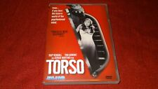 TORSO by Sergio Martino Blue Underground DVD Video Movie Uncensored 1973