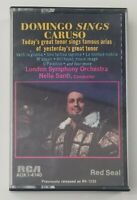 Domingo Sings Caruso Cassette Tape 1972 RCA
