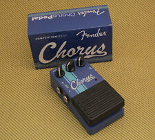 023-4503-000 Fender Guitar Competition Racing Stripe Blue Chorus Pedal