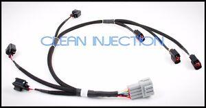 Fits rb25det Nissan Skyline neo gts-t ev14 fuel injector sub harness dynamics GT