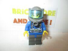 Trans-Light Blue Visor 6338 Blue Helmet LEGO Minifig res004 @@ Coast Guard 1