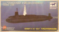Bronco 1/350 HMS Vanguard S-28 SSBN Submarine Model Kit 5014