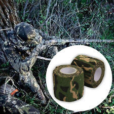 5*450CM Waterproof Camo Duct Tape Gun Hunting Outdoor Camping Stealth Tape Wrap