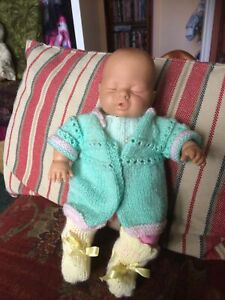 "BABY DOLL BY LIZZI BATZ SLEEPING 12"""